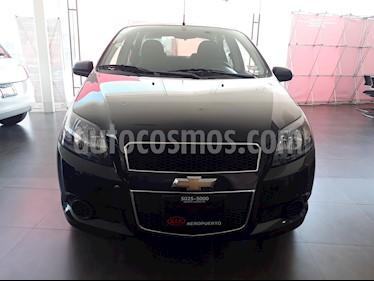 Foto venta Auto Seminuevo Chevrolet Aveo LT (2014) color Negro Grafito
