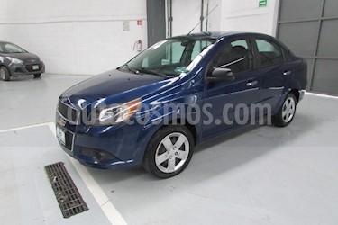 Foto venta Auto Seminuevo Chevrolet Aveo LT (2014) color Azul precio $108,000