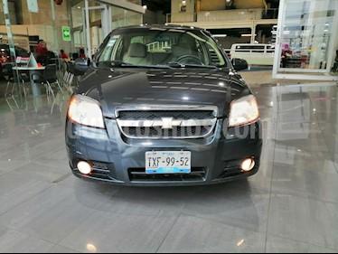 Foto venta Auto usado Chevrolet Aveo LTZ Aut (2010) color Gris precio $98,000