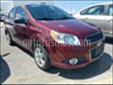 Chevrolet Aveo LTZ Aut usado (2017) color Rojo precio $162,500