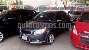 Foto venta Auto usado Chevrolet Aveo LTZ Aut (2014) color Gris Oxford precio $134,000