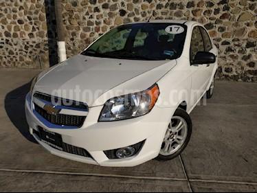 Foto venta Auto usado Chevrolet Aveo LTZ Aut (2017) color Blanco precio $170,000