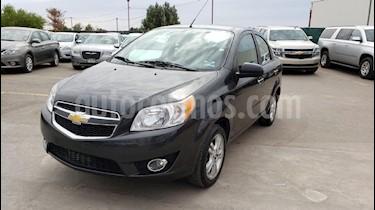 Foto venta Auto usado Chevrolet Aveo LTZ Aut (2017) color Gris precio $135,000