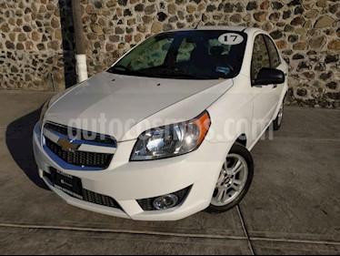 Foto venta Auto usado Chevrolet Aveo LTZ Aut (2017) color Blanco precio $155,000