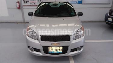 Foto venta Auto usado Chevrolet Aveo LTZ Aut (2016) color Plata precio $149,000