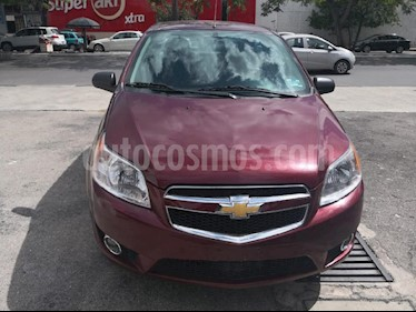 Foto venta Auto usado Chevrolet Aveo LTZ Aut (2017) color Vino Tinto precio $135,000