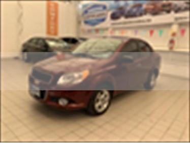 Chevrolet Aveo LTZ Aut usado (2016) color Rojo precio $140,000