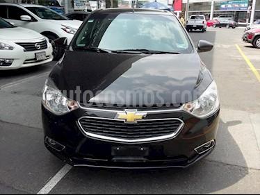 Foto venta Auto usado Chevrolet Aveo LTZ Aut (2017) color Negro precio $199,000