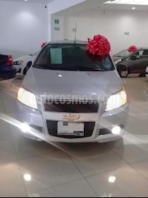 Foto venta Auto usado Chevrolet Aveo LTZ Aut (2017) color Plata precio $160,000