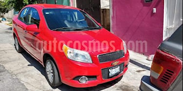 Foto venta Auto usado Chevrolet Aveo LTZ Aut (2012) color Rojo Victoria precio $76,000