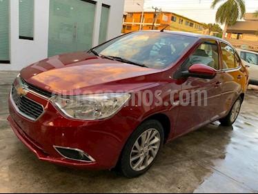 Foto venta Auto usado Chevrolet Aveo LTZ Aut (2018) color Rojo precio $166,900
