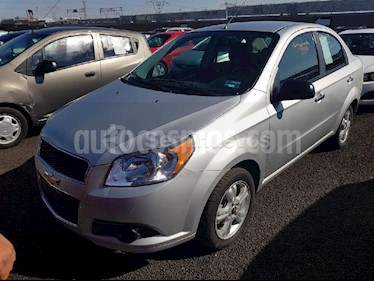 Foto venta Auto usado Chevrolet Aveo LTZ Aut (2017) color Plata Brillante precio $148,000