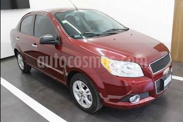 Foto venta Auto usado Chevrolet Aveo LTZ Aut (2013) color Vino Tinto precio $113,000