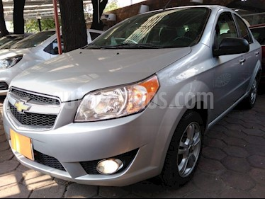 Foto venta Auto usado Chevrolet Aveo LTZ Aut (2017) color Plata precio $135,000