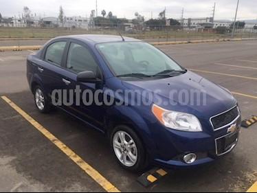 Chevrolet Aveo LTZ Bolsas de Aire y ABS Aut (Nuevo) usado (2016) color Azul Metalico precio $120,000