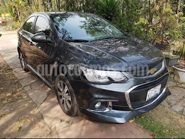Foto venta Auto usado Chevrolet Aveo LTZ Bolsas de Aire y ABS Aut (Nuevo) (2017) color Gris precio $210,000