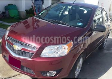Foto venta Auto usado Chevrolet Aveo LTZ Bolsas de Aire y ABS Aut (Nuevo) (2017) color Rojo Tinto precio $135,000