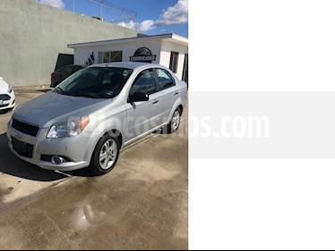 Foto venta Auto usado Chevrolet Aveo LTZ (2014) color Plata precio $135,000