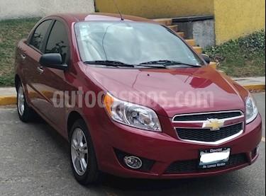 Chevrolet Aveo LTZ usado (2018) color Rojo precio $185,000