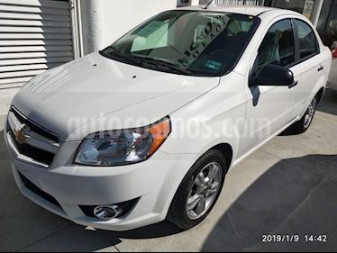 Foto venta Auto usado Chevrolet Aveo LTZ (2017) color Blanco precio $170,000