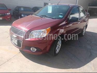 Foto venta Auto usado Chevrolet Aveo LTZ (2013) color Vino Tinto precio $100,000