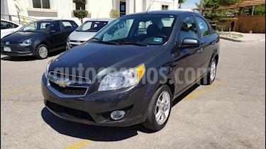 Foto venta Auto usado Chevrolet Aveo LTZ (2018) color Gris precio $159,900