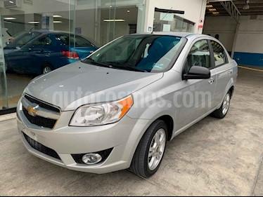 Foto venta Auto usado Chevrolet Aveo LTZ (2017) color Plata precio $133,900