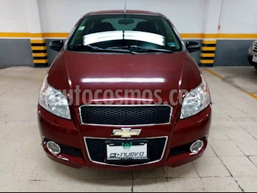 foto Chevrolet Aveo LTZ usado (2014) color Vino Tinto precio $129,000