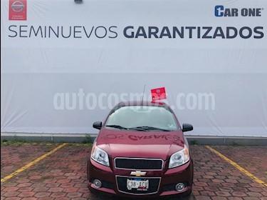 Foto venta Auto usado Chevrolet Aveo LTZ (2014) color Rojo Tinto precio $110,000