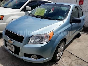 Foto venta Auto usado Chevrolet Aveo LTZ (2012) color Azul Metalico precio $99,000