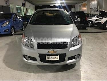 Foto venta Auto usado Chevrolet Aveo LTZ (2015) color Plata precio $145,000