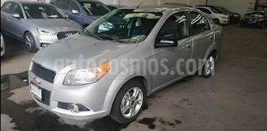 Foto venta Auto usado Chevrolet Aveo LTZ (2013) color Plata precio $105,000