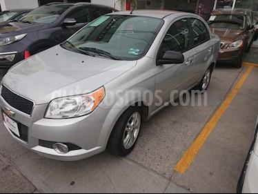Foto venta Auto usado Chevrolet Aveo LTZ (2015) color Plata precio $129,000