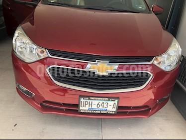 Chevrolet Aveo LTZ usado (2018) color Rojo Victoria precio $185,000