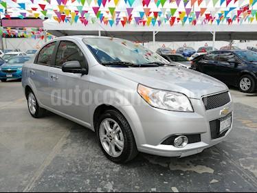 Foto venta Auto usado Chevrolet Aveo LTZ (2014) color Plata precio $98,000