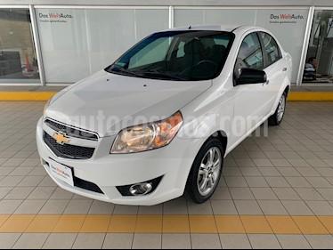 Chevrolet Aveo LTZ usado (2017) color Blanco precio $159,900