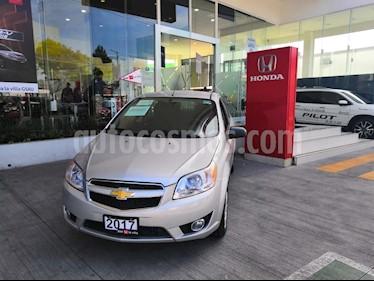 Foto venta Auto usado Chevrolet Aveo LTZ (2017) color Plata precio $179,900