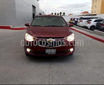 Foto Chevrolet Aveo LTZ usado (2018) color Rojo precio $190,000