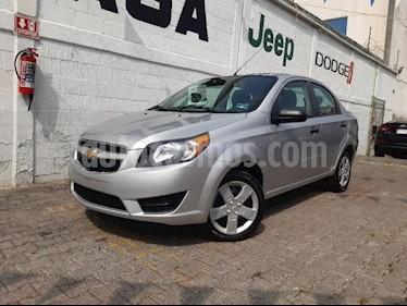 Foto Chevrolet Aveo 4p LS L4/1.6 Aut usado (2017) color Plata precio $145,000