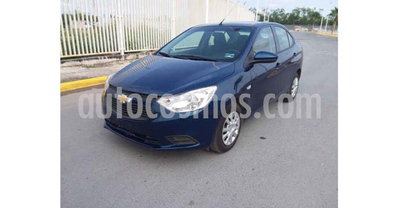 Chevrolet Aveo Paq A usado (2020) color Azul precio $179,900