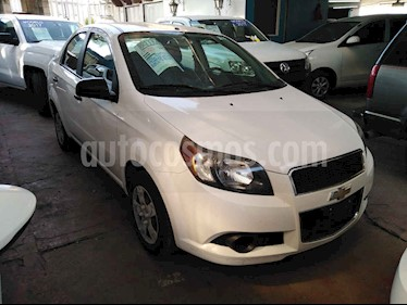Foto Chevrolet Aveo LS Aa usado (2014) color Blanco precio $99,000