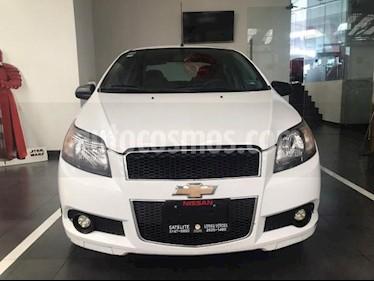 Chevrolet Aveo 4P LS TA A/AC CD R-14 usado (2015) color Blanco precio $115,000