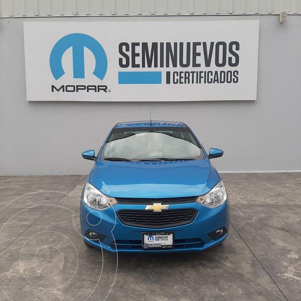 Chevrolet Aveo LT Aut usado (2019) color Azul precio $178,000
