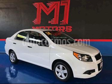 Chevrolet Aveo LS Aut usado (2014) color Blanco precio $105,000