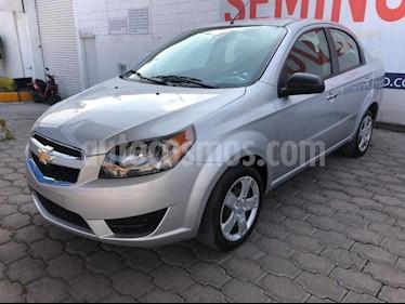 Chevrolet Aveo 4P LT AT A/AC. AUT. F. NIEBLA RA-15 usado (2018) precio $148,000