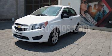 Chevrolet Aveo LT Aut usado (2018) color Blanco precio $190,000