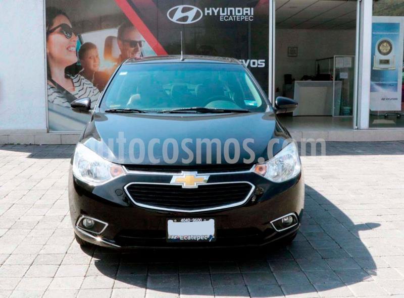 Chevrolet Aveo LTZ Aut usado (2019) color Negro precio $190,000