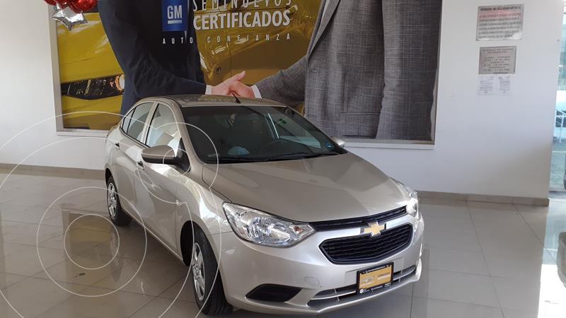 Foto Chevrolet Aveo LS Aa usado (2018) color Cafe precio $160,000