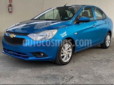 Chevrolet Aveo LT Aut usado (2019) color Azul precio $168,900