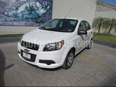 Chevrolet Aveo Paq C usado (2017) color Blanco precio $135,000